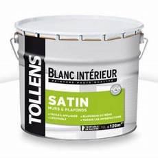 Peinture Murs Et Plafonds Tollens Blanc Satin 10l Castorama