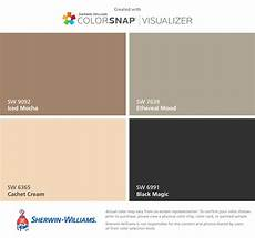 i found these colors with colorsnap 174 visualizer for iphone by sherwin williams iced moch