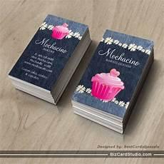 bakery name card template bakery business card cupcake pink bakery