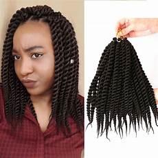 12 Quot Crochet Senegalese Twist Hair Kanekalon Brown