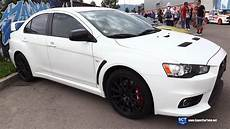 mitsubishi lancer evolution exterior walkaround 2016