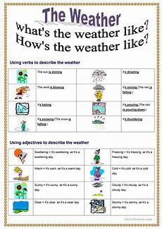 weather worksheets esl adults 14493 what s the weather like worksheet free esl printable worksheets made by teachers