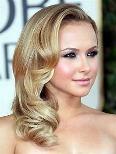 side hairstyles for medium length hair side swept curls for medium length hair medium hair