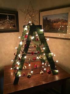 Alternative Tree Designs Turning Step Ladders Decorations