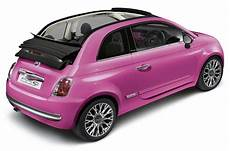 fiat 500 decapotable new fiat 500c pink launched autocar
