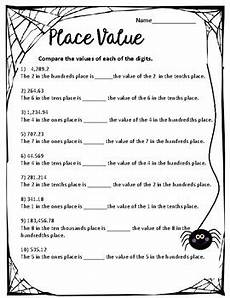 place value worksheets for grade 5 free 5474 5th grade place value worksheets by ms kents creations tpt