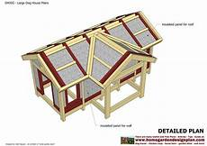 insulated dog house plan free plans to build an insulated dog house