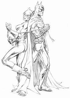 Malvorlagen Dc Comics Batman And By Randygreen Deviantart On
