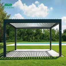 Pavillon 4x4 Meter - outdoor waterproof aluminum louver pergola gazebo 4x5