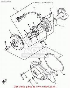 yamaha wrb650r 1993 fn8 waverunner generator schematic partsfiche