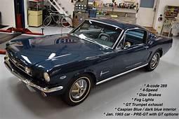 1965 Mustang Fastback Caspian Blue  For Sale MyRodcom