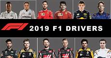 2019 f1 drivers f1 teams drivers and calendar for the 2019 racing season