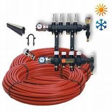 Kit 50m 178 Plancher Chauffant Hydraulique Basse Temp 233 Rature