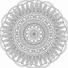 Mandala Malvorlagen Pdf Digital Mandala Coloring Page Printable Pdf