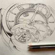 drawing commissioned by greubel forsey watchmaking company
