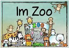 ideenreise themenplakat quot im zoo quot