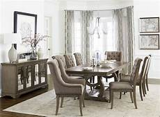 vermillion subtle bisque extendable dining room from