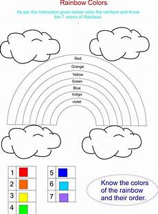 printable colors worksheets for kindergarten 12767 pics to color for with colors is really previous rainbow has 7 beautifull colors