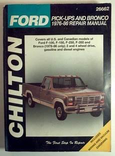 auto manual repair 1986 ford f series navigation system ford f 100 f 150 f 250 f 350 pickup trucks bronco repair manual 1976 1986 totaled car