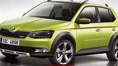 2018 Skoda Fabia Suv Front Picture New Car Release News