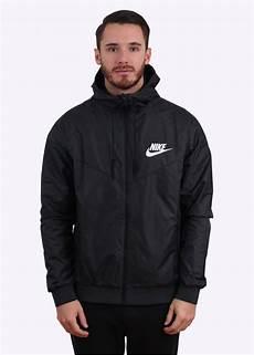 nike windrunner jacket black