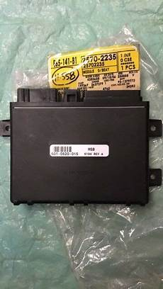 how make cars 2002 cadillac seville parental controls 2000 2002 cadillac deville or seville seat control module 25702235 new ebay