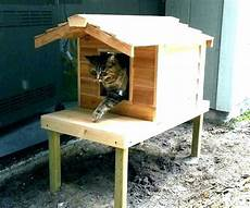 insulated cat house plans how to build an outdoor cat house s insulated outdoor cat