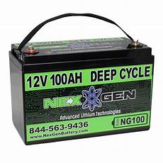 Nexgen 12v Lithium Ion Battery 12v 100ah Replacement Ebay