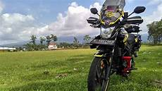 Cb150r Modif Touring by Modifikasi Motor Honda Cb150r Adventure Touring Style