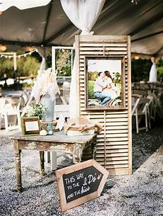 rustic diy farm reception decor