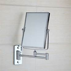 square makeup cosmetic mirror double sided magnifying