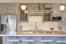 Kitchen Subway Tile Backsplash Pictures Best 60 Modern Kitchen Subway Tile Backsplashes Design