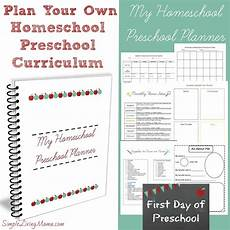 my homeschool preschool planner simple living