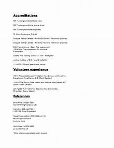 resume 2015 short form