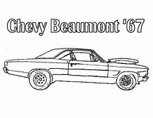 Chevelle 427 Chevy Cars Coloring Pages  Best Place To Color