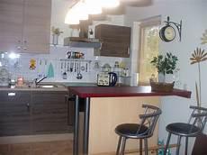 Küche Mit Bartresen - ferienhaus matti in plau am see im erholungsgebiet