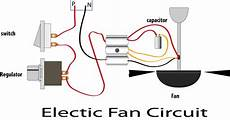 electric ceiling fan repairing and circuit diagram learn basic electronics circuit diagram