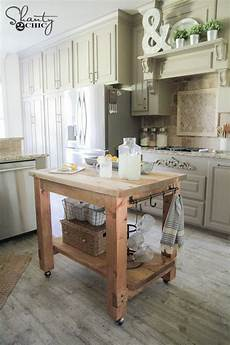 Kitchen Island On Wheels Plans by 13 Free Kitchen Island Plans For You To Diy