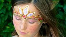 fairytale princess painting and makeup tutorial