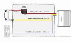 jl audio marine wiring kit 10 feet 6 lifier wiring kit with 50 circuit