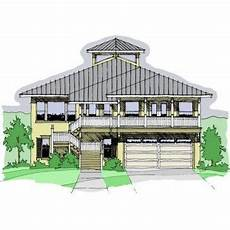 waterfront house plans on pilings beach house plans on pilings house plan dt0005