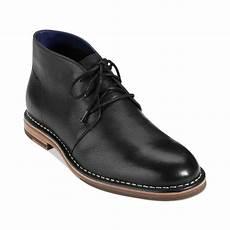 cole haan glenn chukka boots in black for men lyst