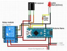 ir remote controlled power switch for rapsberry pi 3 hackster io