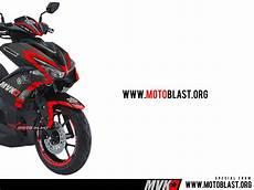 Modifikasi Striping Aerox 155 by Modifikasi Striping Motor Yamaha Aerox 155vva Black Matte