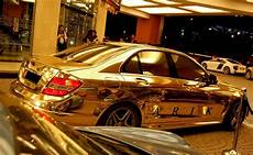 check out the complete mercedes benz made from real gold