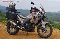 Kawasaki Versys 250 Modifikasi by Gahar Kawasaki Versys X 250 Dingayunkan Bukan Buat