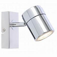 single led ceiling or wall spotlight spot lights fittings chrome black sat white