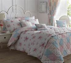 Pink And White Duvet Covers by Pink White Blue Floral Patchwork King Size Cotton