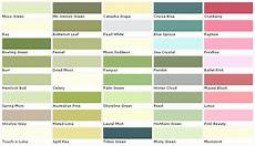 lowes paint color chart house paint color chart chip sle swatch palette colo