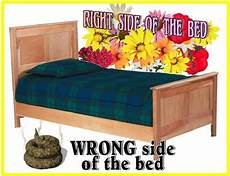 Get Up On The Right Side Of Bed